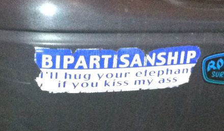 Bumper Sticker - Glenview IL - Bipartisanship