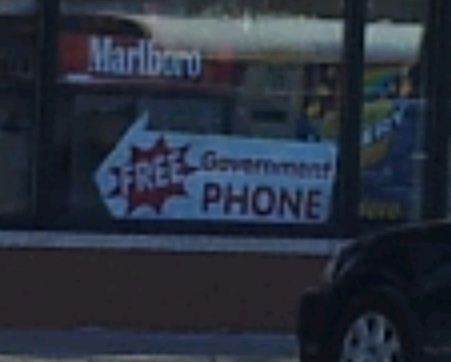 Sign - Elgin IL - Obama Phone 2