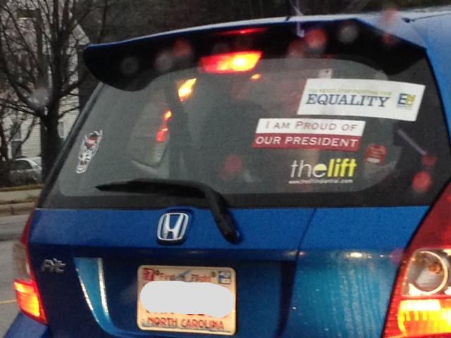 Bumper Stickers - North Carolina - Proud