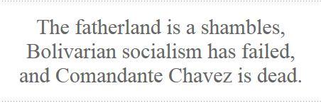 Michael Moynihan Chavez Death Good Riddence