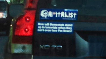 Bumper Sticker - Maryland - Capitalist Fox