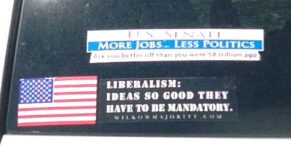 Bumper Sticker - Rhode Island - Liberalism Mandatory