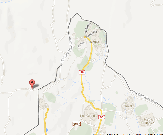 Aadaisse, Lebanon - Street Map View