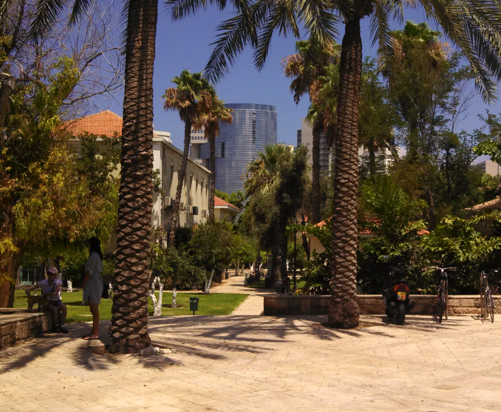 Tel Aviv Skyscraper Background