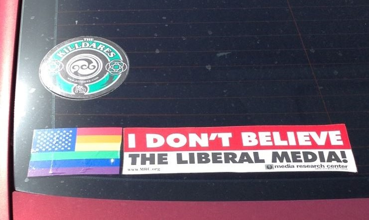 Bumper Sticker - Oak Lawn Dallas - Freedom1