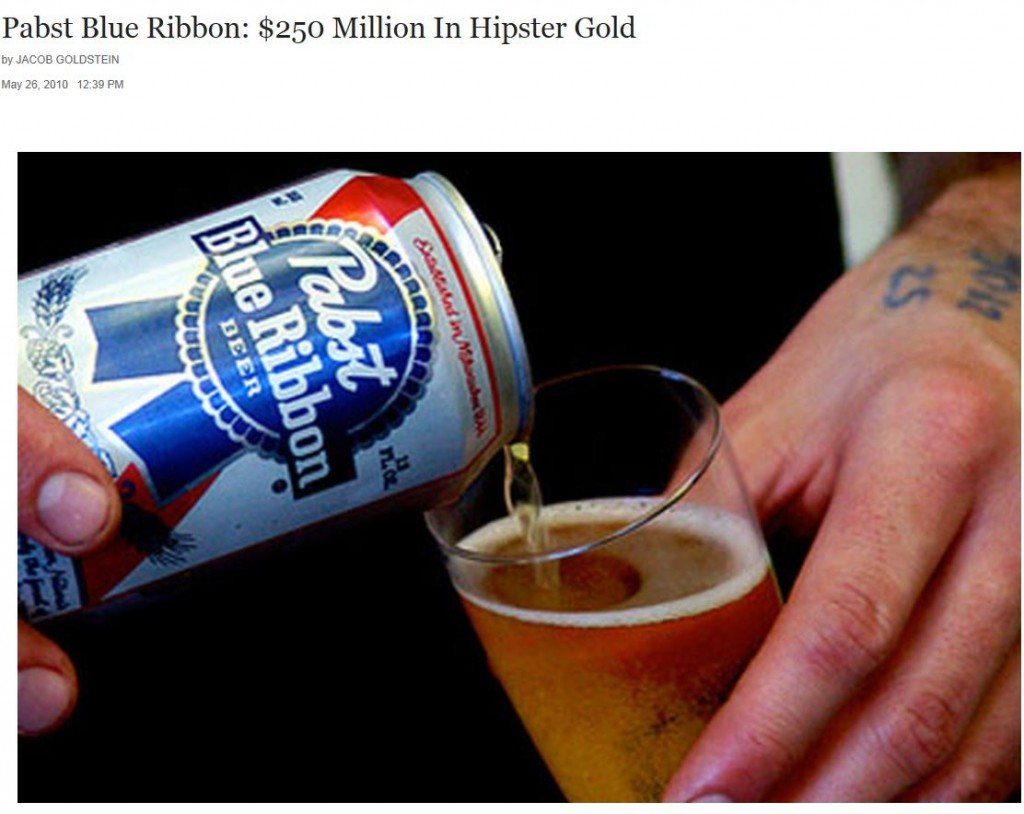 Pabst Blue Ribbon Sale