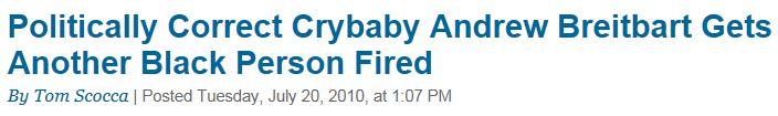 Slate.com Politically Correct Crybaby