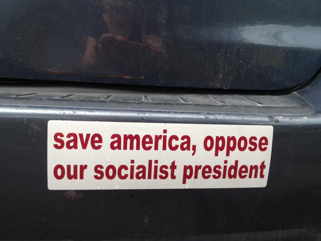Bumper Sticker - Fish Creek WI - Stop President