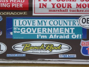 Bumper Stickers - Outer Banks NC - 2