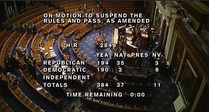 (House Vote to Embassy Security)