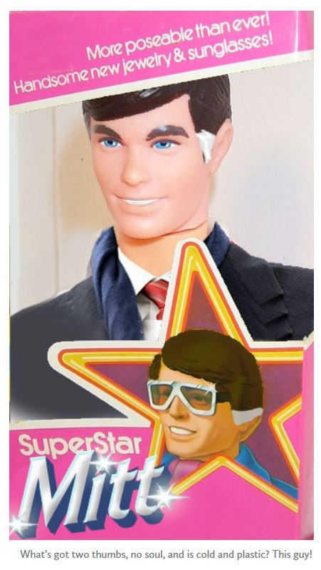 Mitt Romney Ken Doll