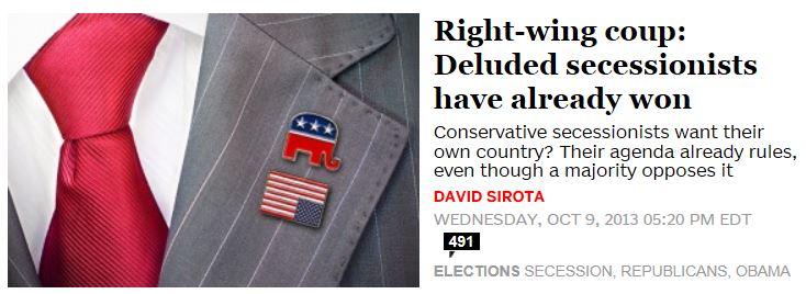 Salon.com Deluded Secessionists