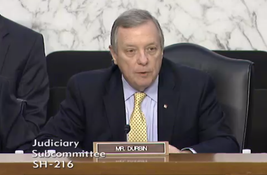 US Senator Dick Durbin (D), Illinois