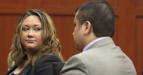 Shellie Zimmerman, with her then-husband George Zimmerman