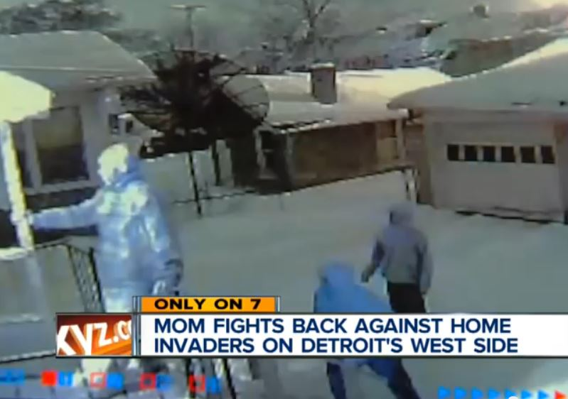 Detroit Mom Rifle Defend Home Invaders