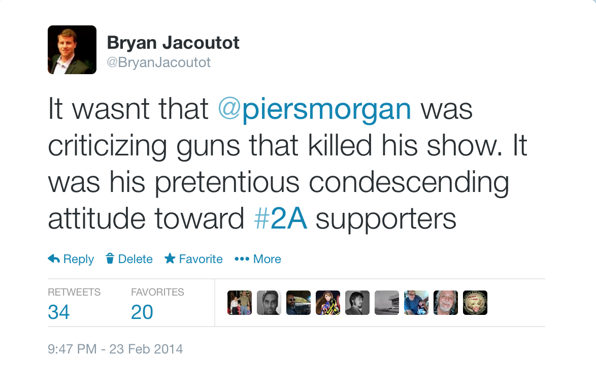 PiersMorgan Tweet