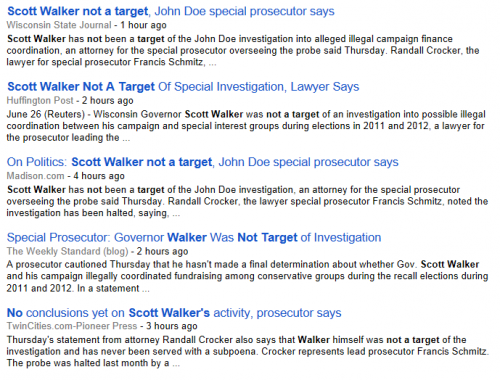 Scott Walker Google Search 6-26-2014 325 pm EST