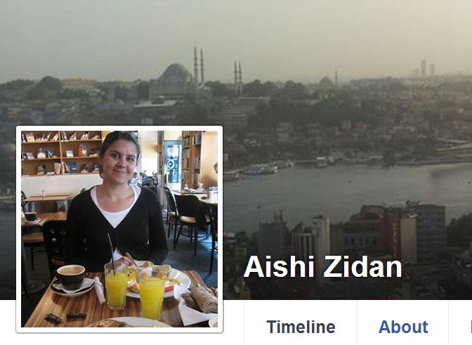 Aishi Zidan Facebook Banner
