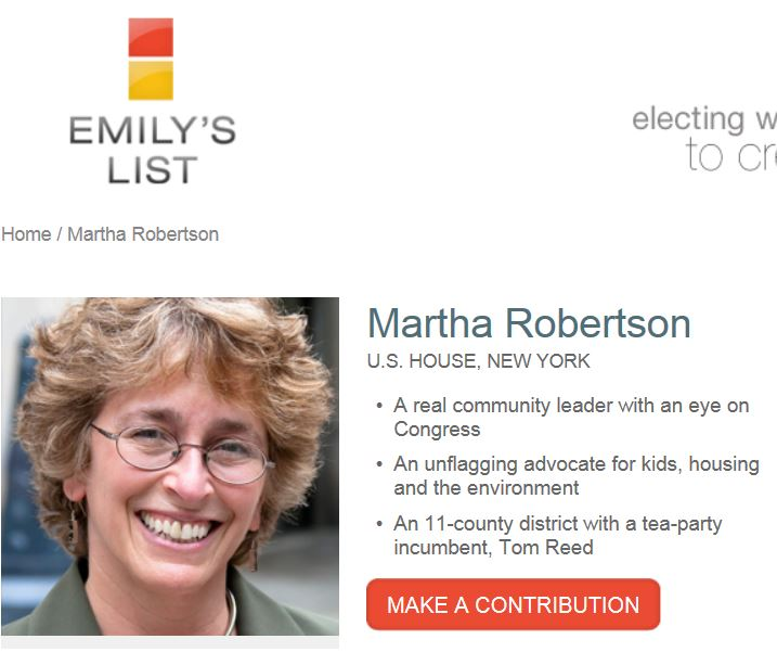 Martha Robertson Emily's List