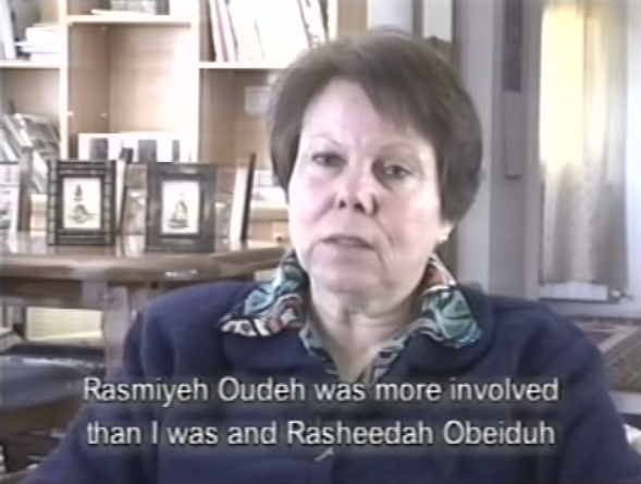 Women in Struggle Video Rasmiyeh Oudeh more involved