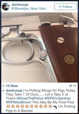Instagram NYPD killer