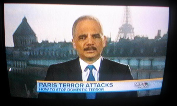 Eric Holder Meet the Press Paris
