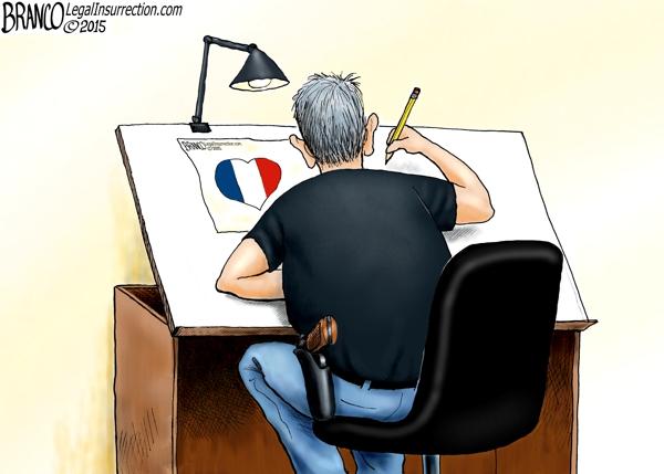 Cartoonist Killed