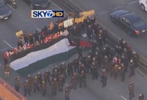 http://kron4.com/2015/01/19/protesters-block-westbound-lanes-on-san-mateo-bridge/