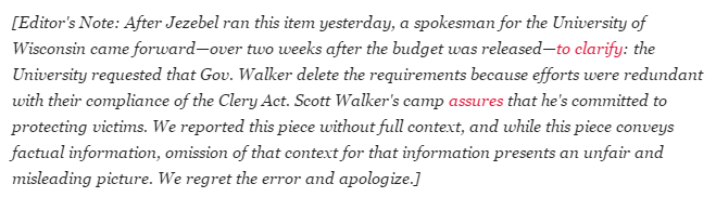 Jezebel Scott Walker Sexual Assault Reporting Update 2