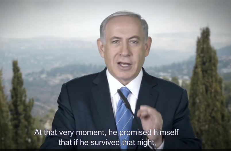 Netanyahu At That Moment Promised Himself