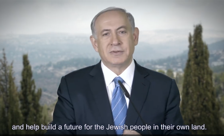 Netanyahu help build future in their own land