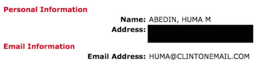 Gawker Hillary Email Address Huma