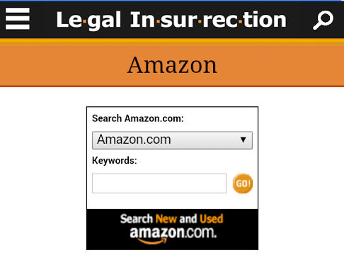 Legal Insurrection Mobile Amazon