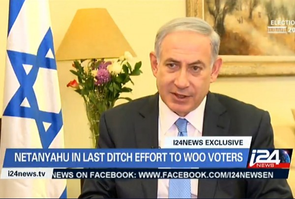 Netanyahu i24 News Election