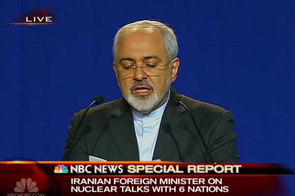 Iran Deal Announcement 4-2-2015 Iranian Foreign Minister