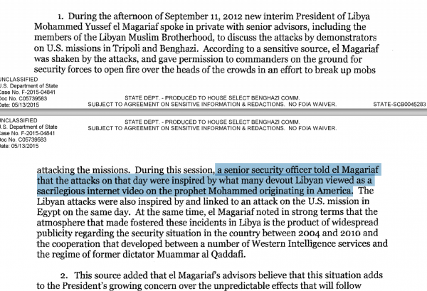 security official accounts of benghazi emails hillary clinton scandal state department