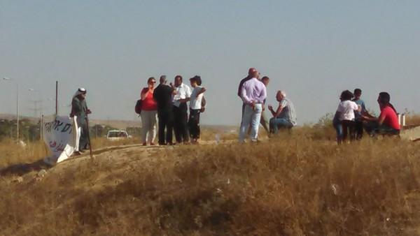 Negev Bedouin Protest Close Up