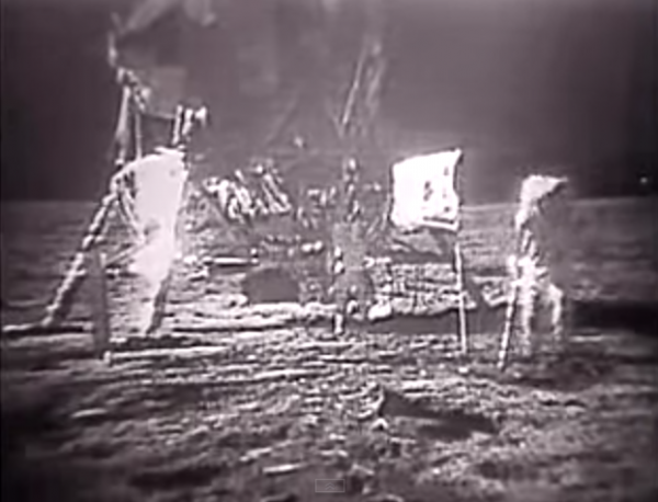 Apollo 11 Moon Landing and Walk