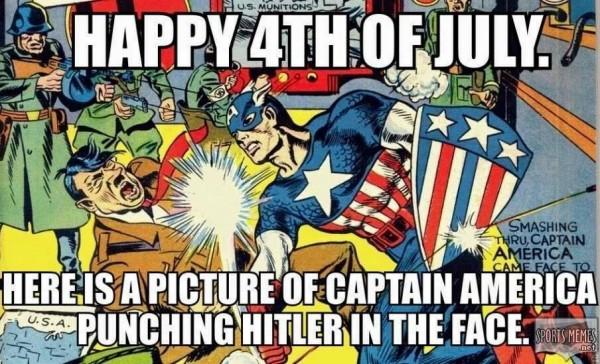 captain america hitler