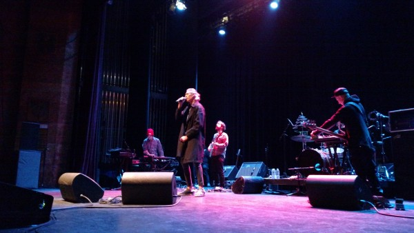 Matisyahu on Stage Ithaca In Coat