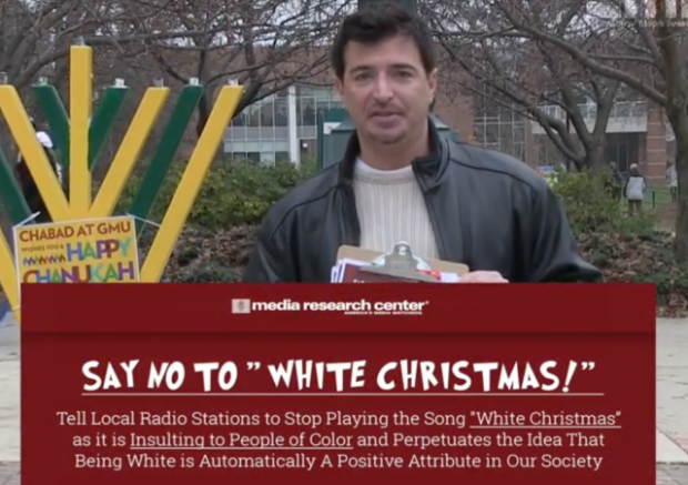 watch students sign petition to ban racist white christmas song from radio - White Christmas Song