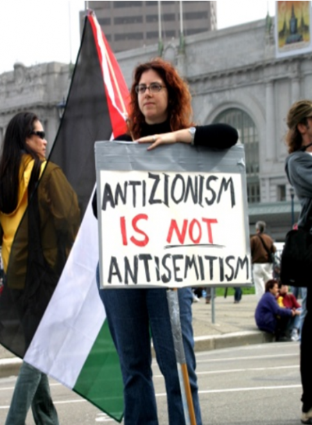 Anti Semitim not anti Zionism