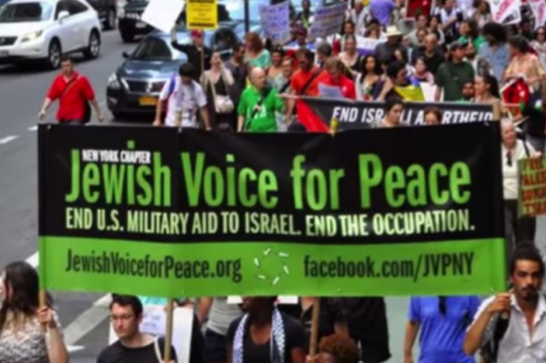 Jewish Voice for Peace rally