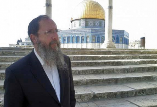 Rabbi Chaim Richman, International Director, Temple Mount Institute | Credit: Twitter