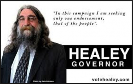 Robert Healey Vote Governor