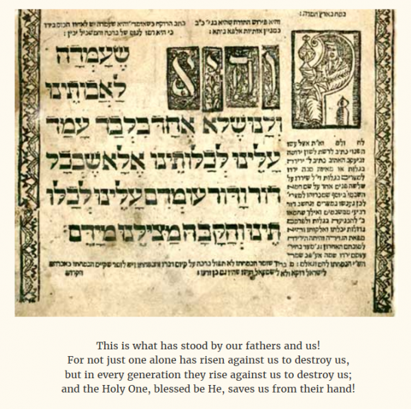 Traditional Passover Haggadah | credit: ElderofZion