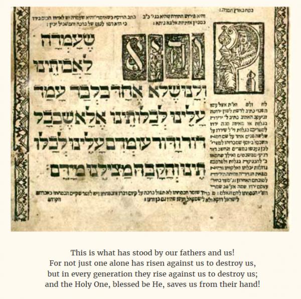 Traditional Passover Haggadah | credit: ElderofZion