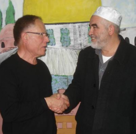 Hassan Fouda (left) and Raed Salah | credit: @AnarchoZionist