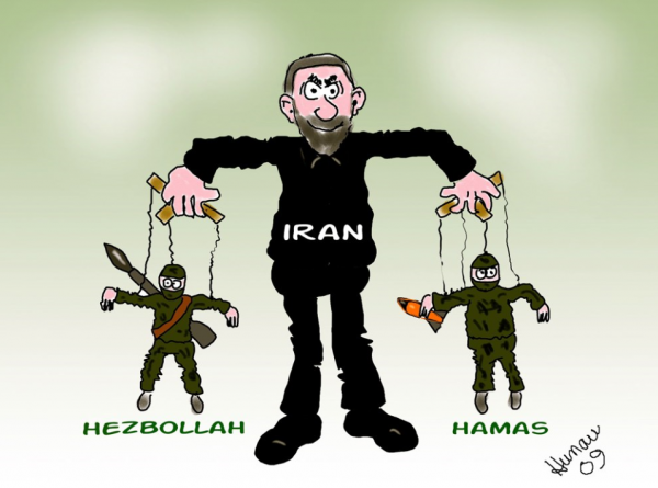 Iran and Hamas linked