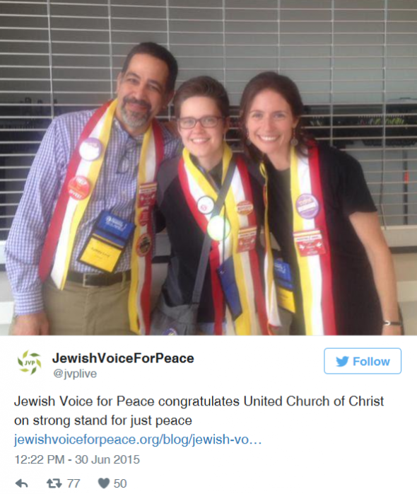 JVP in the churches, 2015